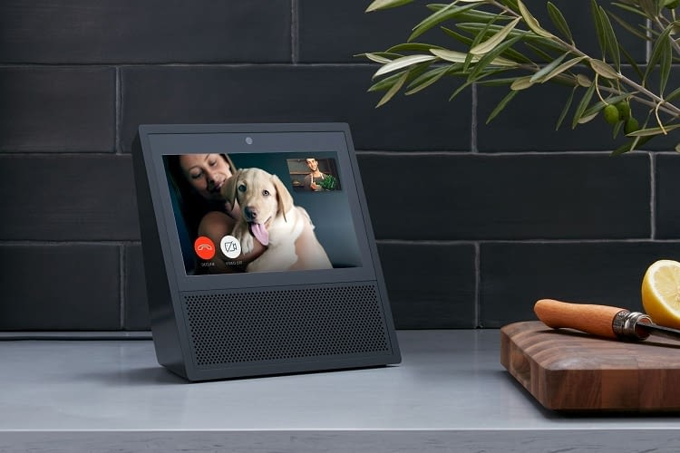 Amazon Echo plus Touchscreen: Echo Show sieht aus wie eine Gegensprechanlage