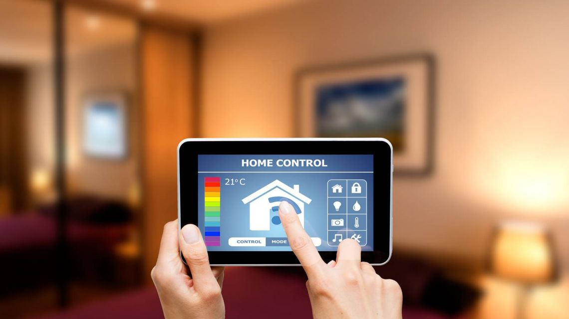 Heizung im Smart Home per Tablet steuern
