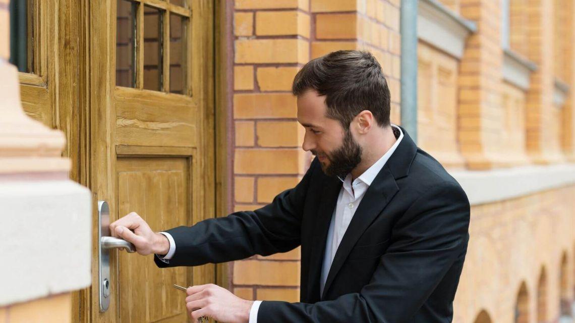 Räume Eingang Sicher Schlüssel