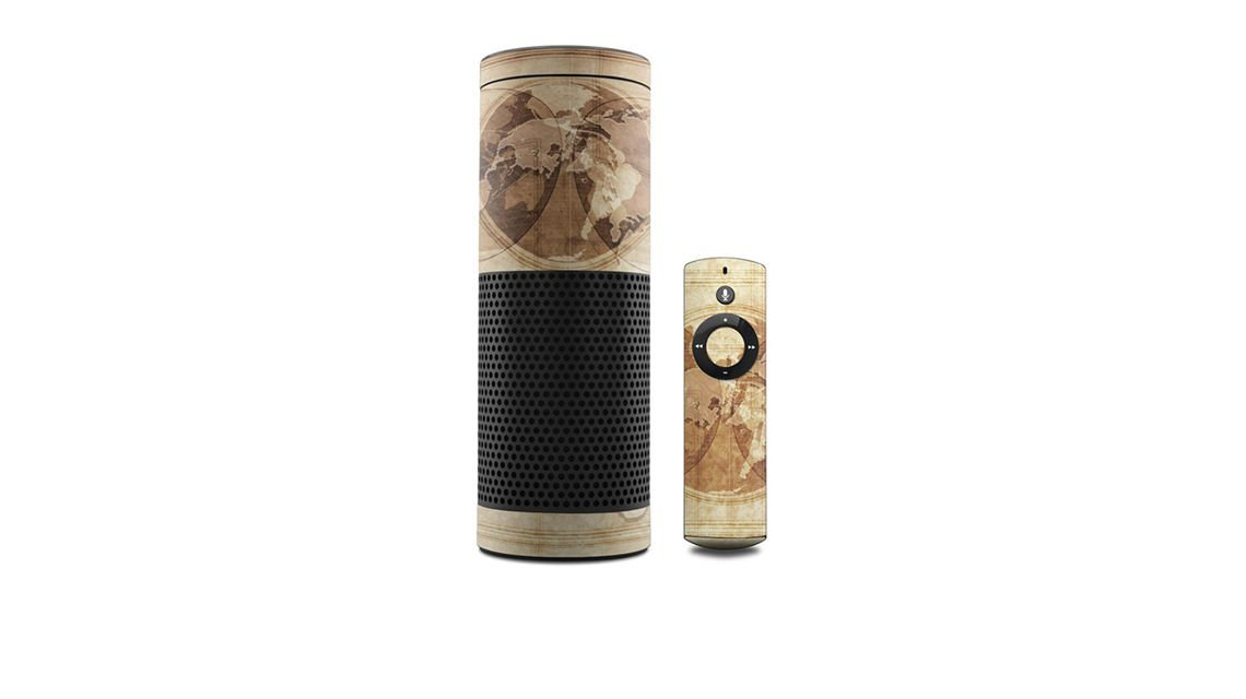 amazon-echo-skin-landkarte-vintage