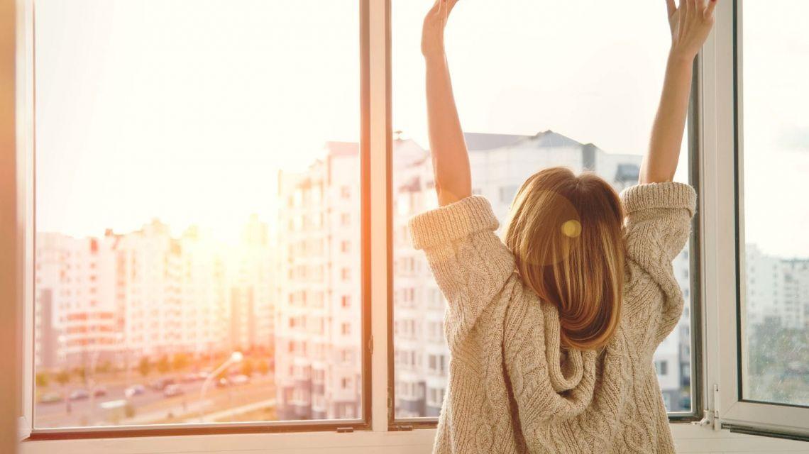Ecobee Thermostat Fenster öffnen