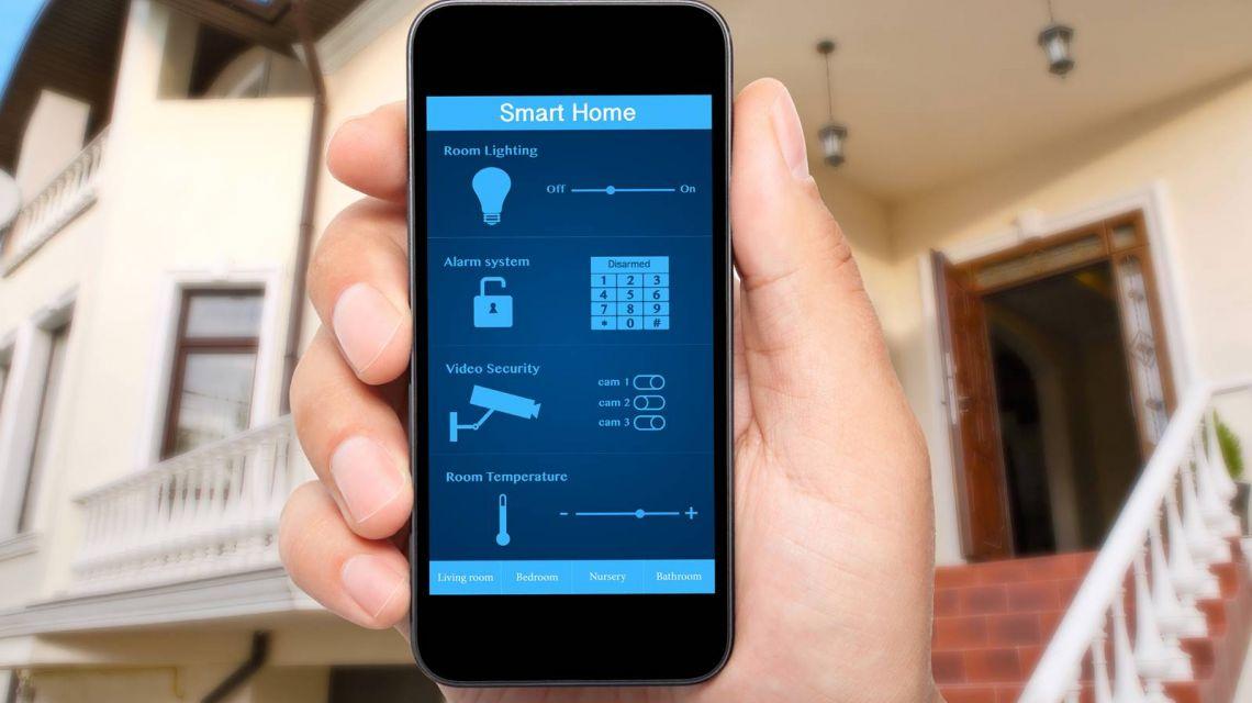 Starten des Leaving Home-Szenarios per App
