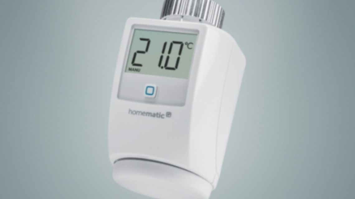 HomematicIP Thermostat Produktbild vertikal