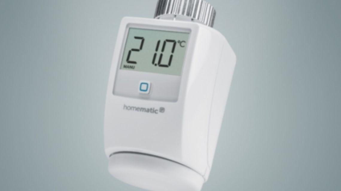 HomematicIP Thermostat Produktbild vertikal