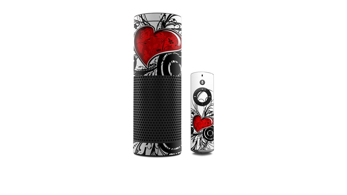 amazon-echo-skin-mit-herz-heart