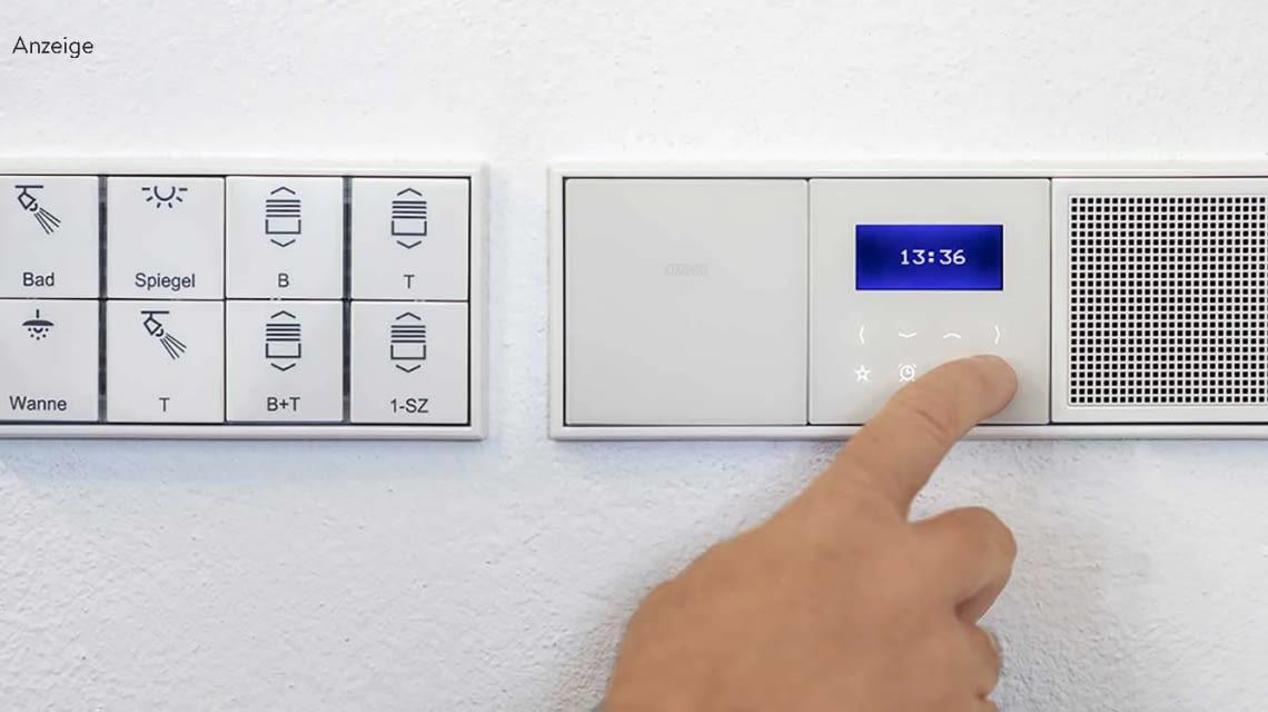 Zentrale Steuerung im Smart Home