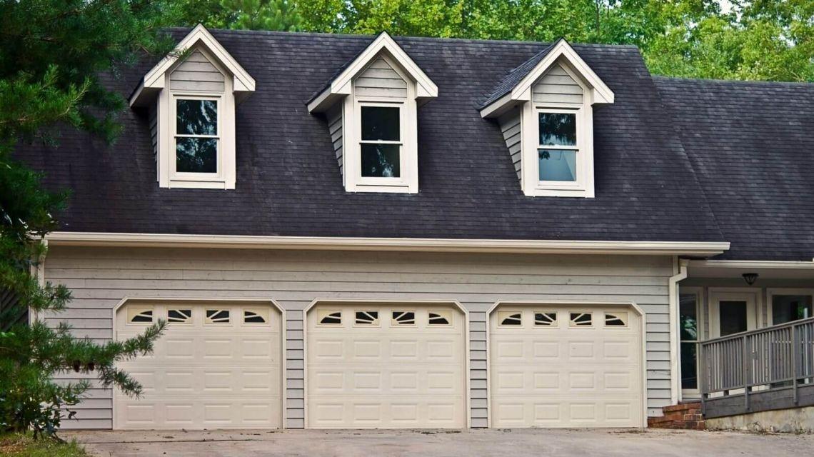 Räume Eingang Blick Garage