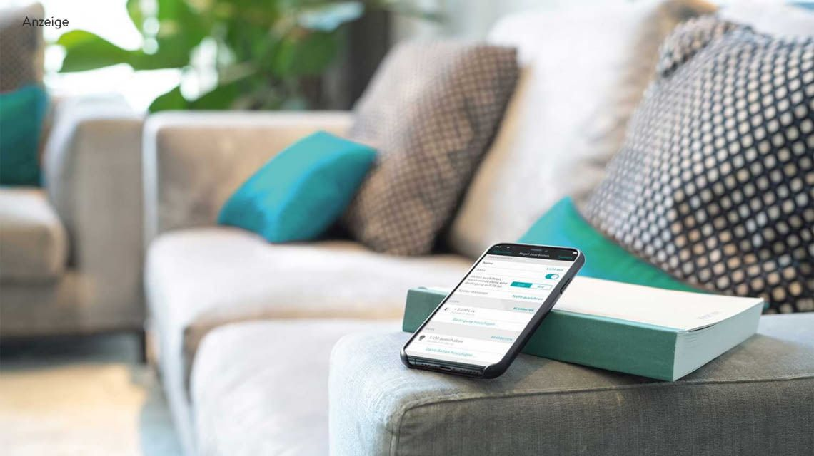 Smart Home Steuerung per App