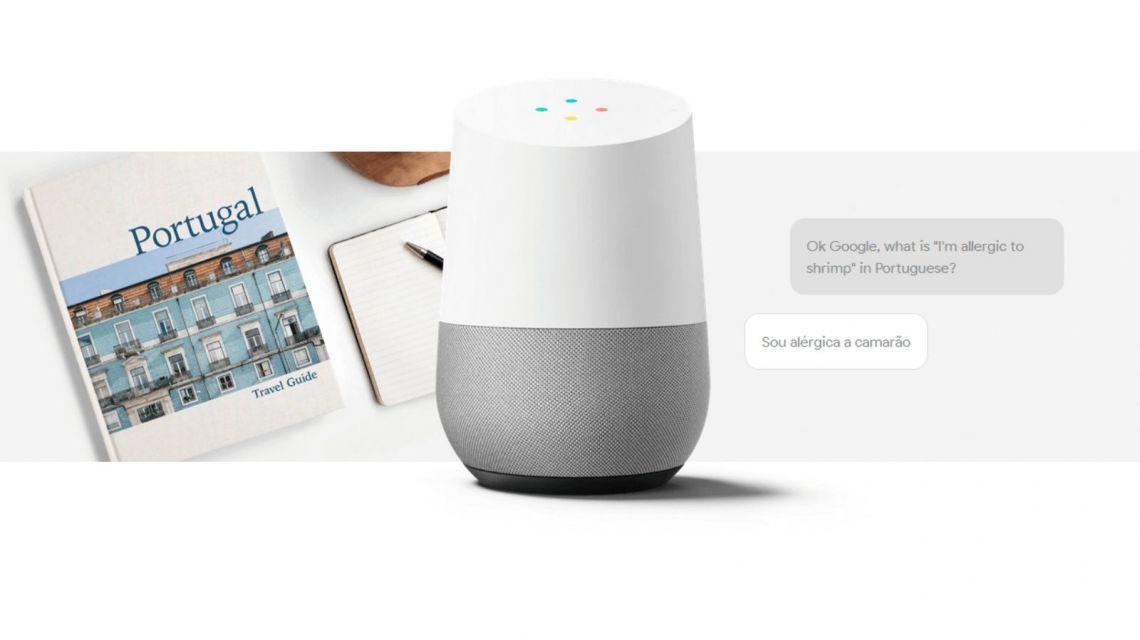 Google Home antwortet auf Fragen