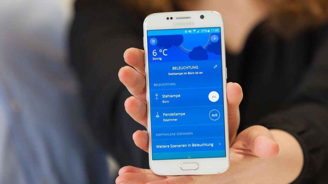 innogy Smart Home App Beleuchtung