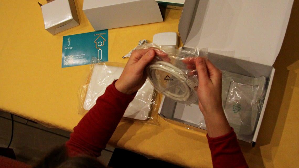 Im innogy Smarthome Praxistest wurde auch die Verpackung überprüft