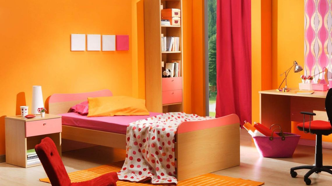 awesome schlafzimmer orange contemporary home design
