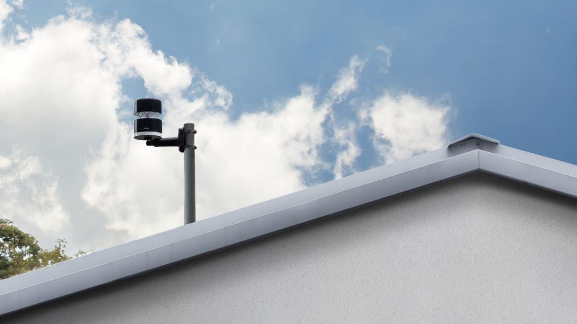 Netatmo Windmesser Dach