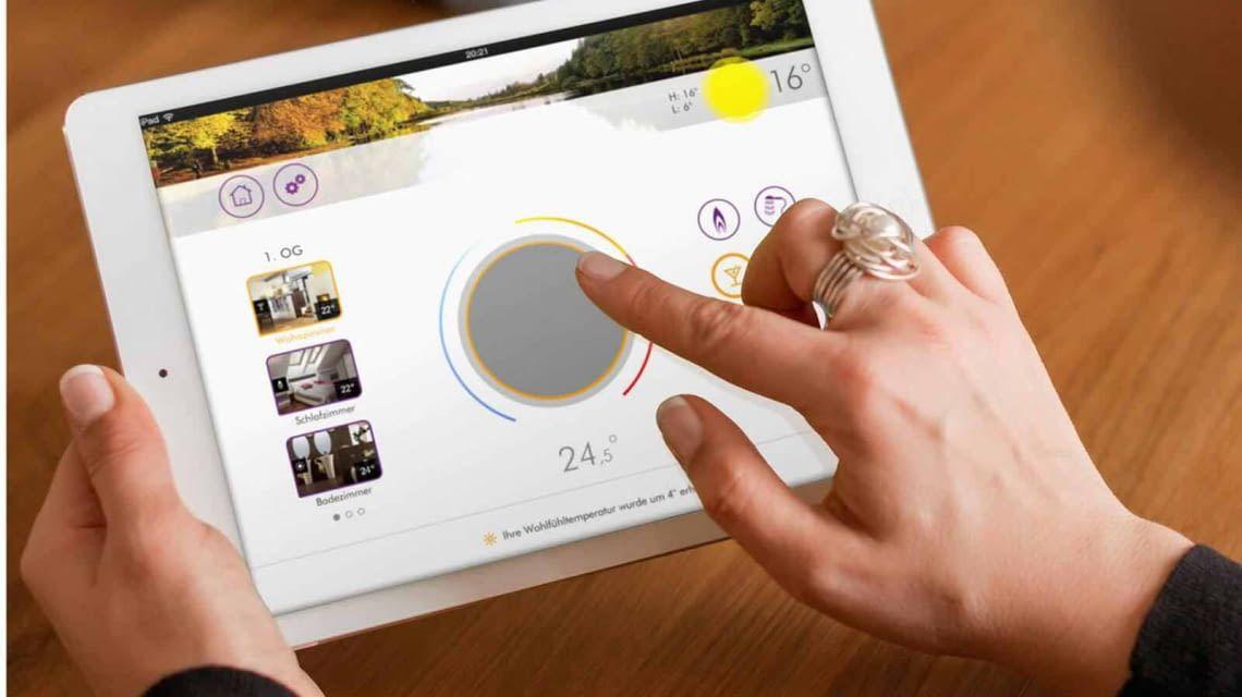heatapp! Steuerung mit der App auf Smartphone und Tablet