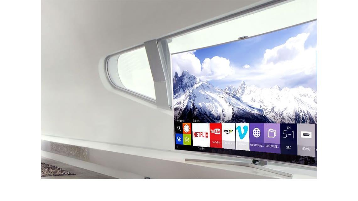 Tizen OS auf Samsung Smart TVs