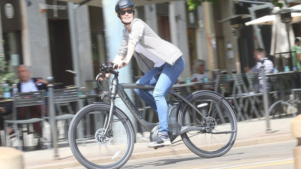 Piaggio Wi-Bike Active Black smartes E-Bike