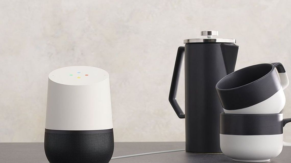 Google Home gut in den Tag