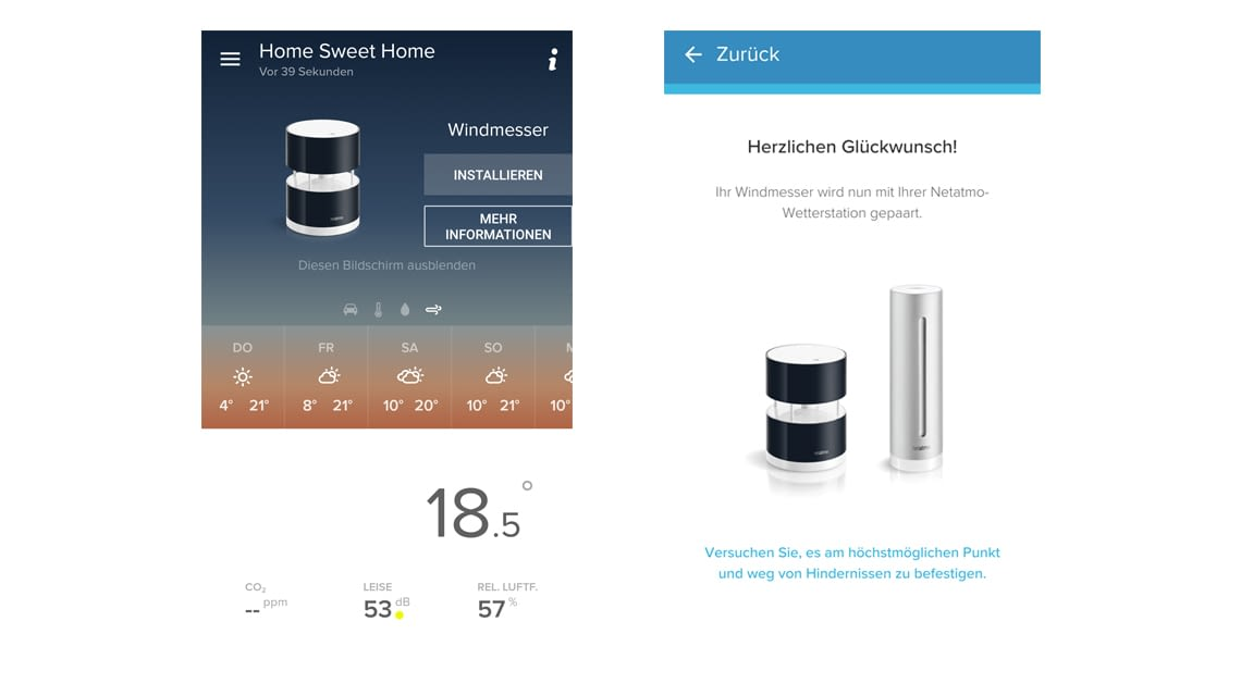 Netatmo-App: Schritt-für-Schritt-Anleitung zur Installation der Zusatzkomponenten