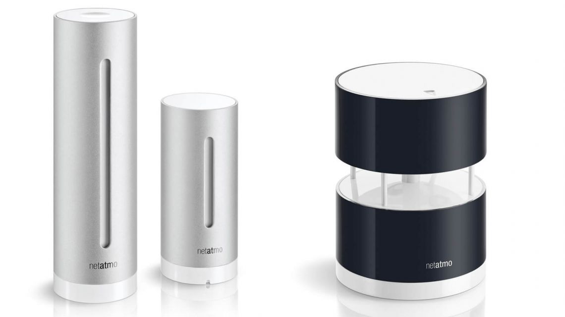 Netatmo Windmesser Wetterstation