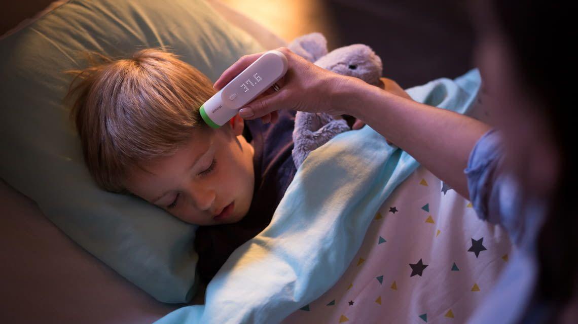 Die Messung mit Nokia Thermo ist kaum zu spüren