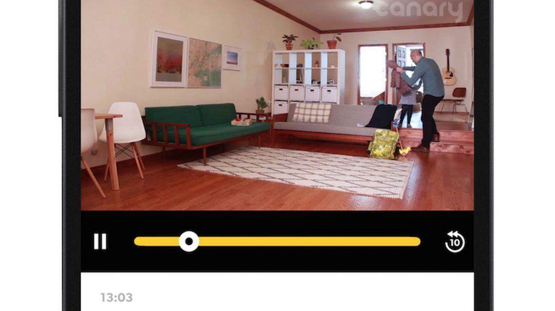 Canary App Bewegung wahrgenommen im Deaktiviert-Modus