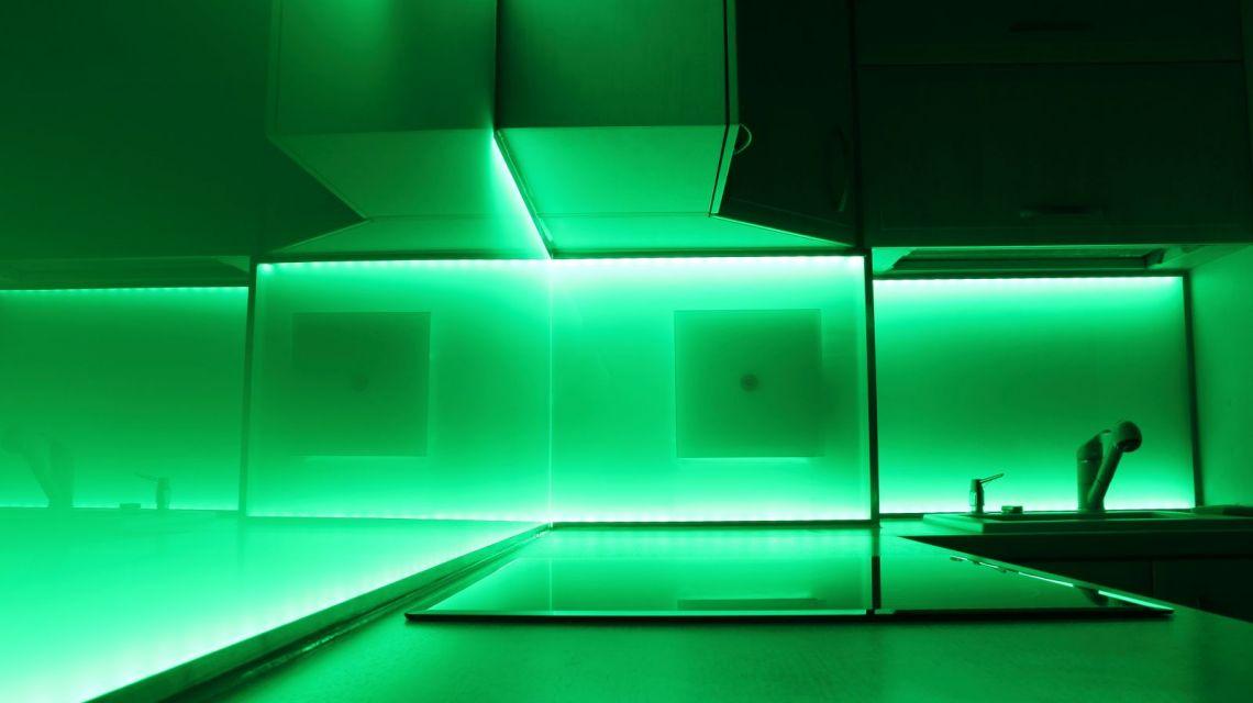 Grünes Licht bei niedrigem Verbrauch