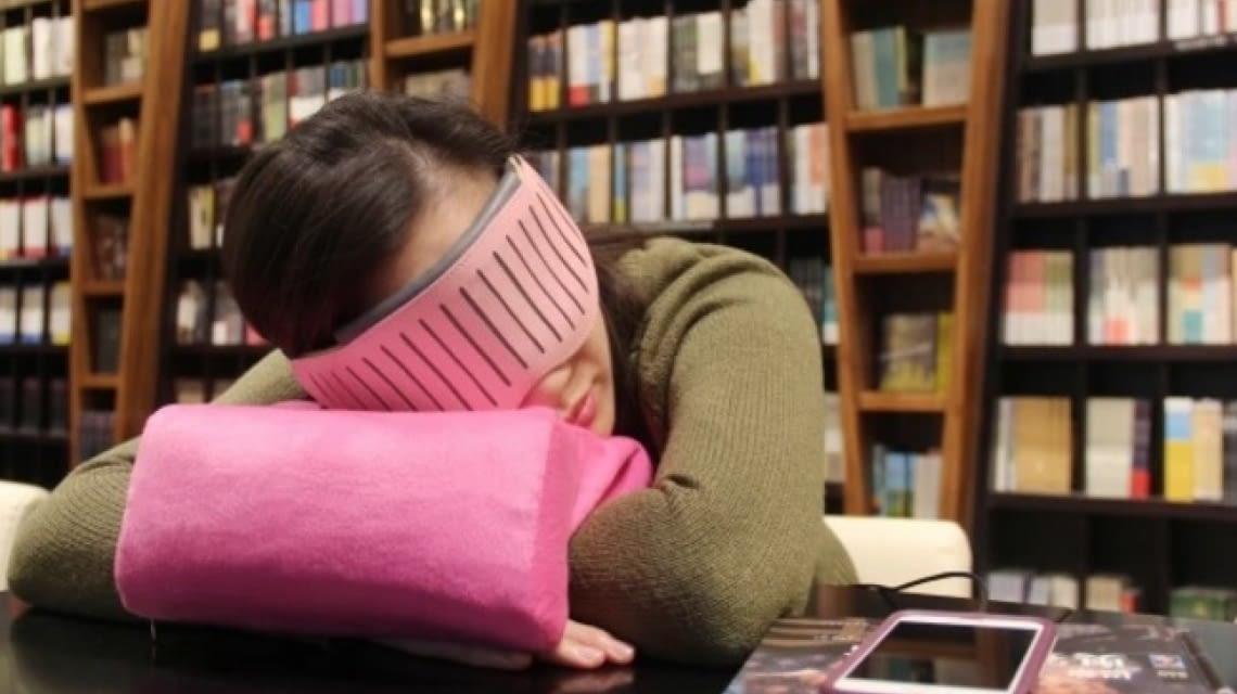 Erholsames Nickerchen zwischen den Kursen mit Naptime