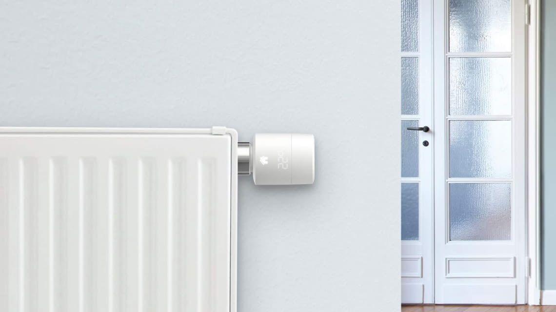 tado Radiator Thermostat im Wohnraum