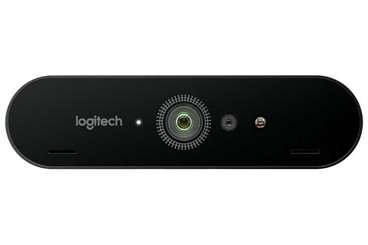 Kompakt und leistungsstark: Logitech Profi-Webcam Brio ULTRA-HD PRO