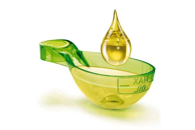 Ein Löffel Öl reicht für die Zubereitung der meisten Gerichte