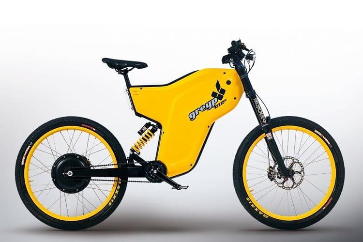 Das Greyp G12S hat auch Motorradqualitäten
