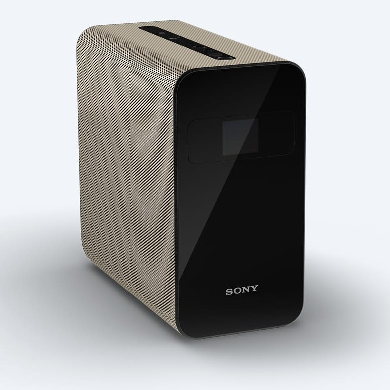 Der WLAN-Beamer Xperia Touch von Sony Mobile ist wie ein Tablet bedienbar