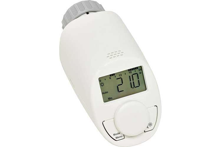 Mit dem Eqiva Thermostat Modell N können individuelle Heizprogramme eingestellt werden