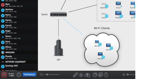 equinux Spot Maps App - das Netzwerk Kontrollzentrum für Ihr Smart Home
