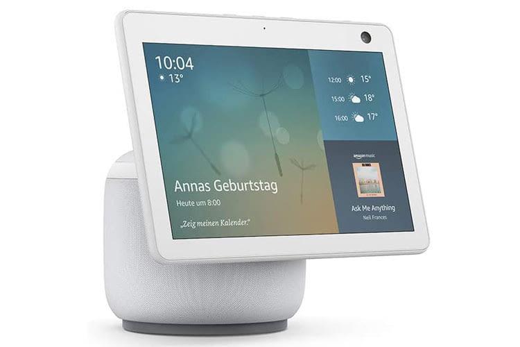 Echo Show 10 der dritten Generation ist das einzige Modell in der Echo Show Reihe, das den Bildschirm automatisch schwenkt