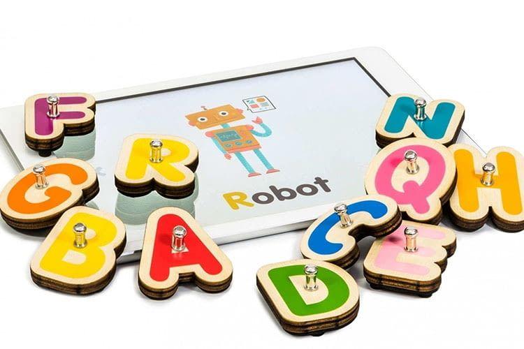 Marbotic Smart Letters: Lesen Lernen mit App und Holzbuchstaben