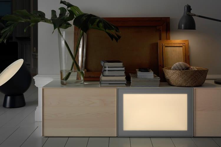 Egal, ob Leuchtmittel oder Lichtpanel: Alle TRÅDFRI-Lampen können mit der Hue-Bridge gekoppelt werden.