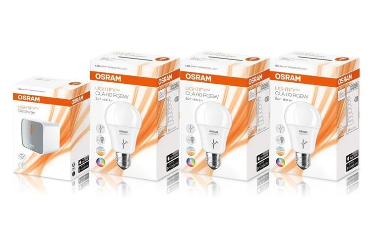 Das Osram Lightify Work und Relax Kit gibt es nur jetzt für weniger als 100 Euro