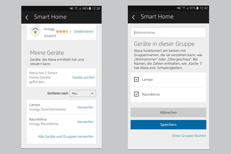 innogy SmartHome ist mit Amazon Alexa sprachsteuerbar