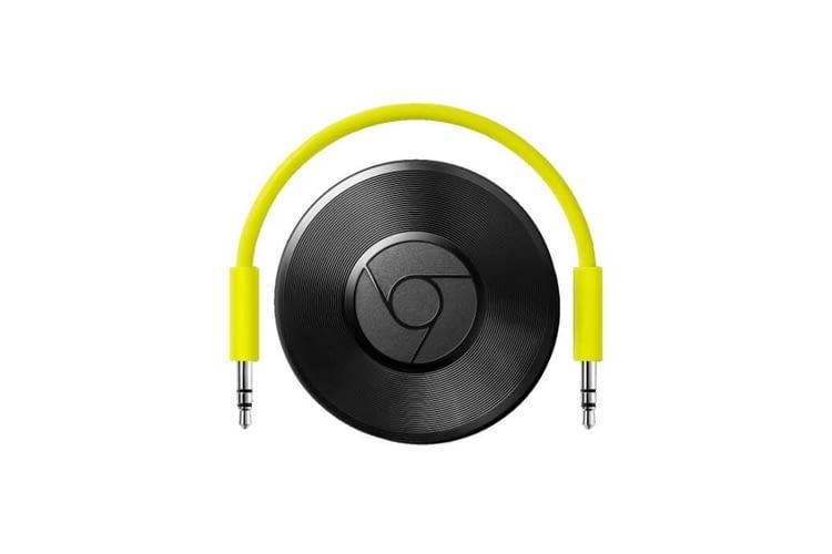 Mit nur wenigen Handgriffen ist der Google Chromecast Audio-Player einsatzbereit