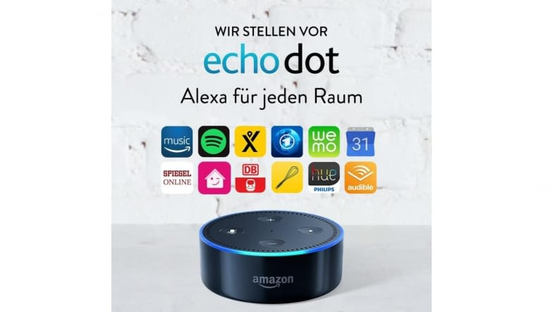 Mit diesen Funktionen und Anbietern ist Amazon Echo Dot unter anderem kompatibel