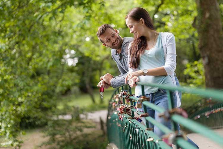 Mit einem ABUS Love Lock Liebesschloss wird der Valentinstag zum Event-Highlight, und das trotz Covid-19 Lockdown