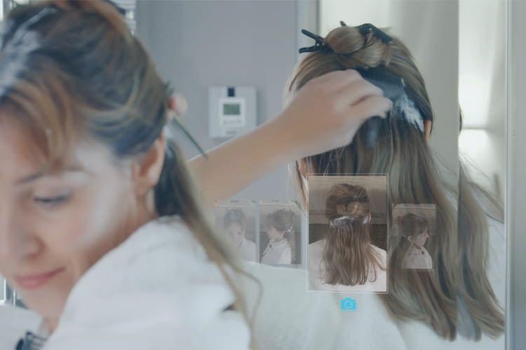 4D-Visualisierung hilft sowohl beim Schminken als auch bei komplizierten Frisuren