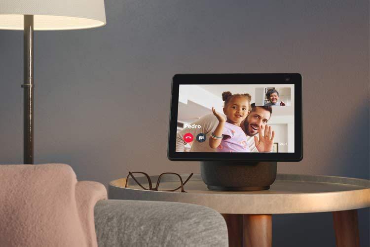 Bei Echo Show Displays sind sogar Videoanrufe möglich
