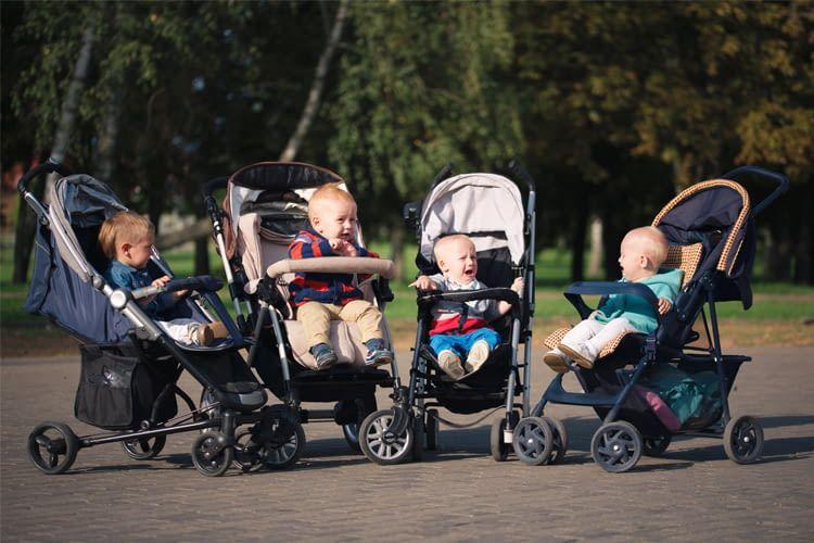 Mit einem Buggy entdecken Kinder sicher ihre Umgebung