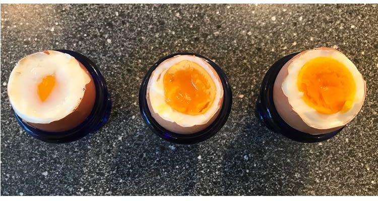 Der Eierkocher Pro-Skill ist der exakteste Skill zum Eierkochen