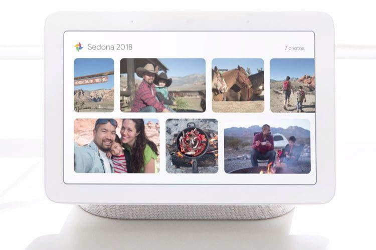 Dank Zugriff auf Google Photos wird Google Home Hub zum digitalen Bilderrahmen