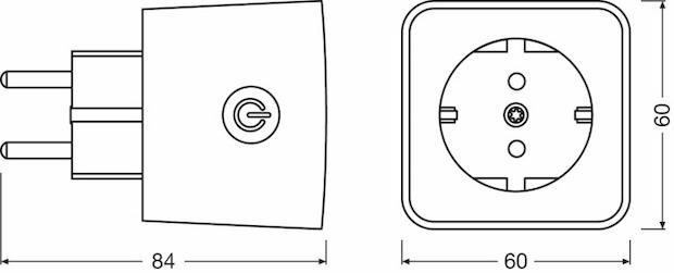 Abbildung der Osram LIGHTIFY Plug - Schaltbare Steckdose für das LIGHTIFY-System