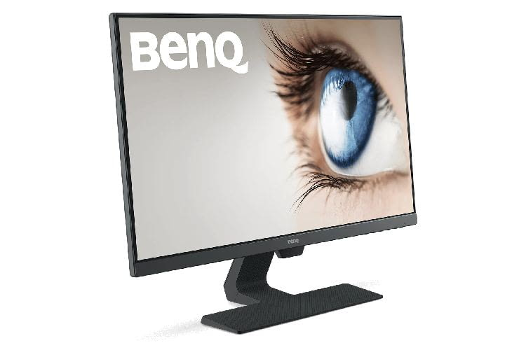 Der BenQ GW2780 Monitor bietet 27 Zoll und eine Full HD Auflösung