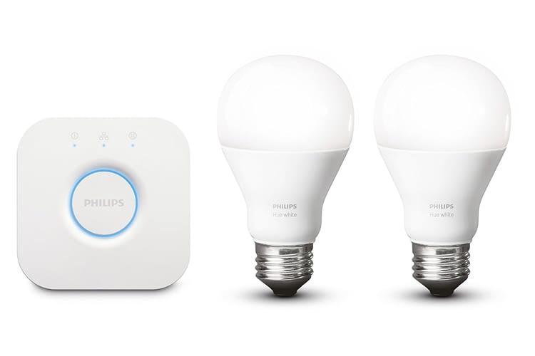 Das Philips Hue White E27 LED Starter Set ist auch per App steuerbar